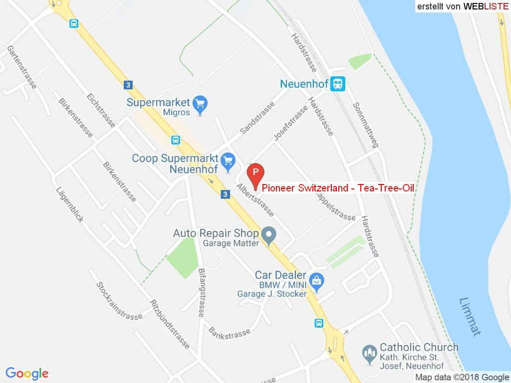 Standort Pioneer Switzerland - Tea-Tree-Oil in 5432 Neuenhof