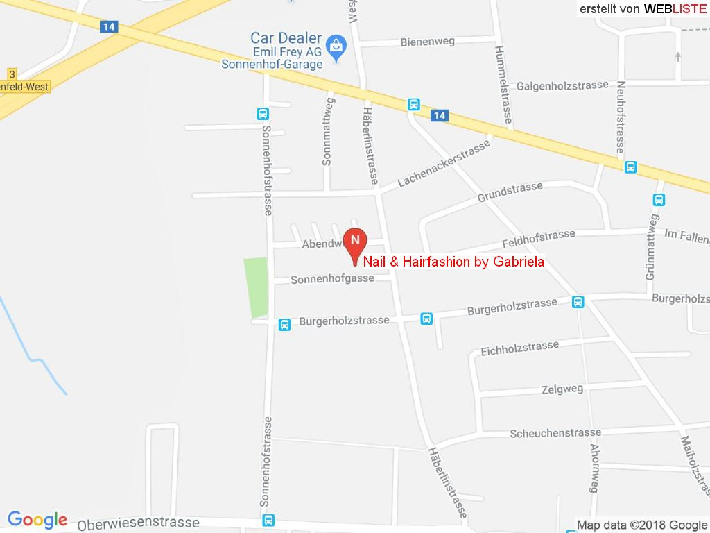 Standort Nail & Hairfashion by Gabriela in 8500 Frauenfeld